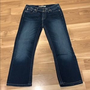 """BKE by Buckle """"Happer"""" ankle jeans size 27 EUC"""